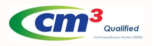 CM3 qualification logo