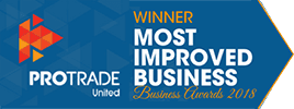 ProTrade award for most improved business