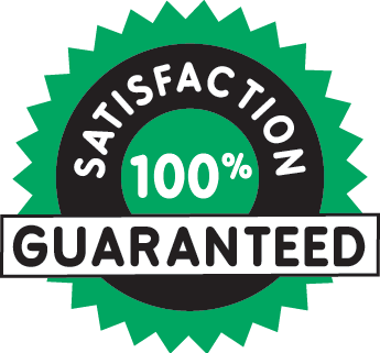Satisfaction guaranteed green